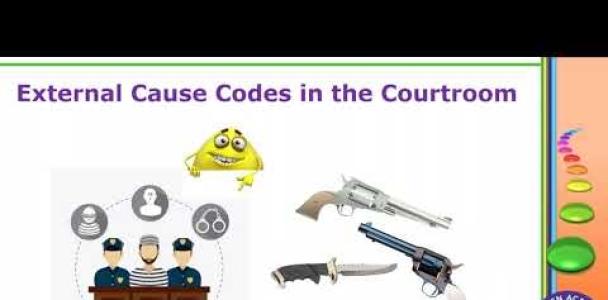 HCGTV: Webinar – Eek! External Cause codes Professional Cost Coding