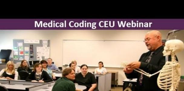 CCO's Medical Coding Webinar– Grab Your FREE CEU