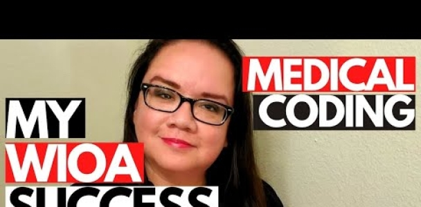 MY WIOA SUCCESS STORY | BECOMING A MEDICAL CODER | MEDICAL CODING WITH BLEU